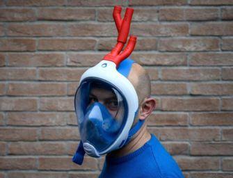 Covid-19, maschera sub respiratore