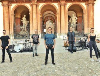 Concerto di Nek a Sassuolo in piazza (vuota) per l'uscita dell'album