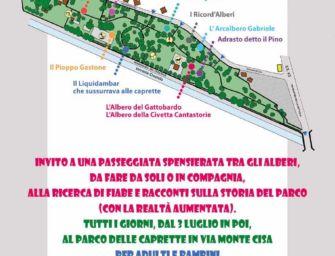 Reggio. Quartieri, l'inaugurazione del 'parco degli alberi narranti'
