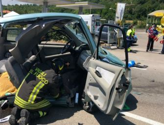 Vignola, incidente sulla tangenziale: morta donna di 46 anni