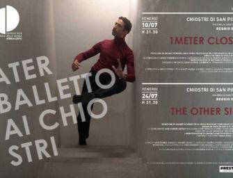 """Restate 2020, il 10 e il 24 luglio Aterballetto ai Chiostri di S. Pietro con due video-creazioni """"da lockdown"""""""