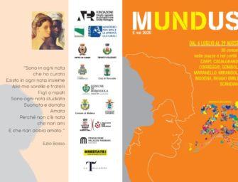 """Il Festival Mundus compie 25 anni e torna """"dal vivo"""" con oltre trenta concerti tra luglio e agosto"""