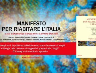 """Un saggio del reggiano Teneggi nel """"Manifesto per riabitare l'Italia"""" di Donzelli"""