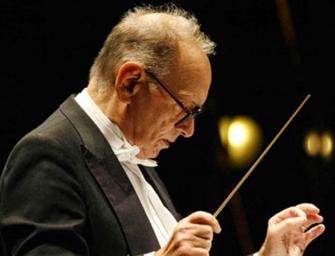 Il maestro Ennio Morricone dirige The Mission
