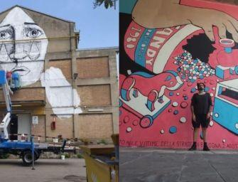 Tre murales in memoria strage di Bologna