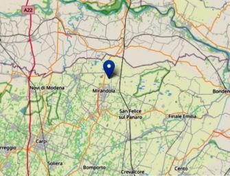Lieve scossa di terremoto 2.4 a Mirandola