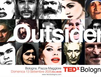 Il mondo visto dalla prospettiva degli outsider nell'evento 2020 TEDxBologna