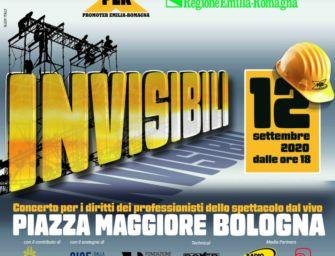 """Sabato 12 settembre in piazza Maggiore a Bologna il concerto """"Invisibili"""""""