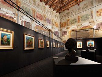 2.700 visitatori per Ligabue a Palazzo Bentivoglio a Gualtieri