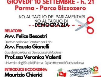 A Parma si è formato il comitato per il No al taglio dei parlamentari
