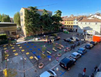 Prende corpo il restyling di piazza del Popol giost, storico luogo di Reggio