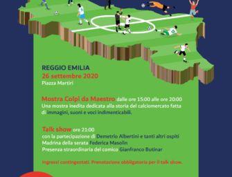 Sabato 26 settembre il grande calcio arriva a Reggio con un doppio appuntamento