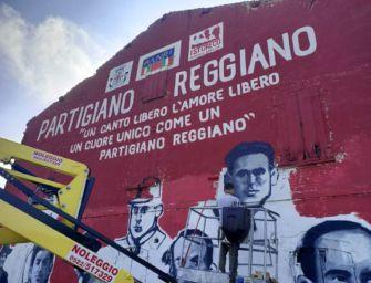 Grande murale per i martiri di Villa Sesso