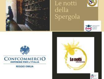 Reggio. Confcommercio e la Compagnia del vino bianco lanciano 'Le Notti della Spergola'