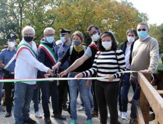 Inaugurata la ciclo-pedonale tra Puianello e Rivalta