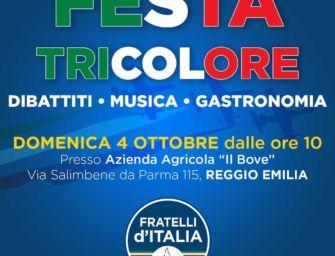 Domenica la festa provinciale di Fratelli d'Italia a Reggio Emilia