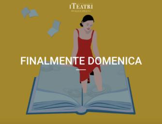 """Al teatro Valli di Reggio torna """"Finalmente Domenica"""": si riparte il 4 ottobre con Pietro Del Soldà"""