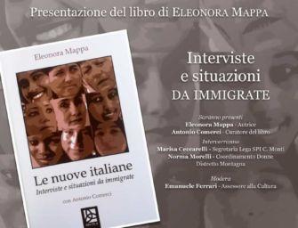 """A Castelnovo Monti """"Le nuove italiane. Interviste e situazioni da immigrate"""""""