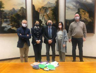 Reggio, le detenute donano mascherine agli enti che hanno supportato i carcerati durante la pandemia