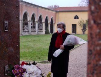 Campegine. L'omaggio a Genoeffa, mamma dei 7 fratelli Cervi