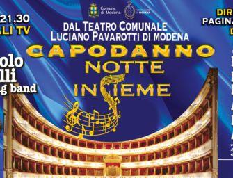 """Capodanno a Modena, """"Notte insieme nella piazza virtuale"""""""