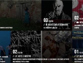Concerti, spettacoli, incontri, mostre: in Emilia-Romagna la cultura si converte allo streaming