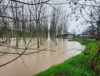 Martedì 8 dicembre allerta meteo arancione per criticità idraulica in Emilia