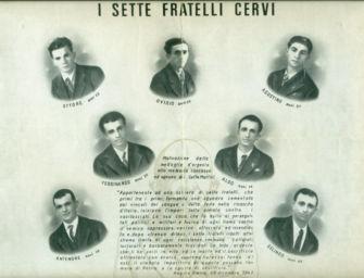 A Reggio le celebrazioni per il 77° anniversario del sacrificio dei 7 fratelli Cervi e Quarto Camurri
