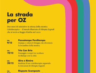"""Reggio, due mesi di iniziative in attesa della mostra """"Caleidoscopica – Il mondo illustrato di Olimpia Zagnoli"""""""