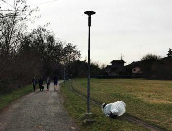 Reggio. Nuovo sistema di illuminazione al led al Parco delle Caprette
