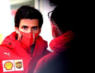 Formula 1, a Fiorano Modenese il debutto di Sainz al volante della Ferrari
