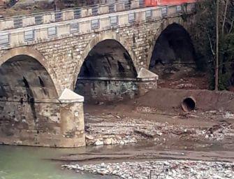 Interrotti per il maltempo i lavori di deviazione del fiume Panaro nell'area del ponte Samone