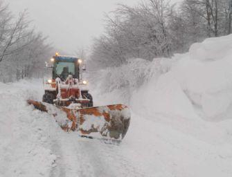 Dalla Regione 1,5 milioni di euro per i Comuni montani colpiti dalle forti nevicate di dicembre e gennaio