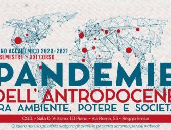"""Dal 18 gennaio alla Cgil di Reggio il corso della Lup """"Pandemie dell'antropocene"""""""