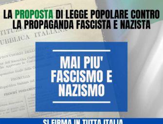 Reggio, lo Spi Cgil invita a firmare contro propaganda fascista e nazista