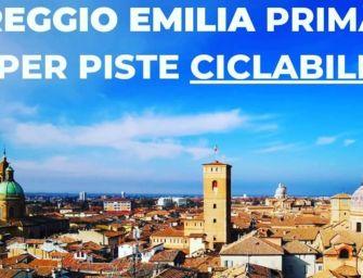 Reggio prima in Italia per numero di piste ciclabili