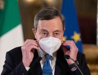 Draghi: veloci i vaccini contro le varianti