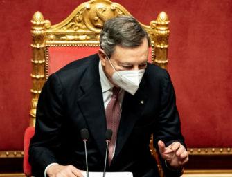 Governo Draghi ottiene la fiducia alla Camera (video)