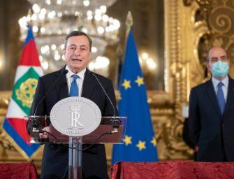 """La crisi. Draghi accetta con riserva l'incarico a premier: """"Il momento è difficile, serve responsabilità"""""""