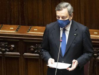 Il governo Draghi incassa anche la fiducia della Camera: 535 voti a favore, 56 contrari