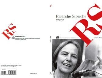 Reggio. Nuovo numero della rivista RS Ricerche Storiche di Istoreco