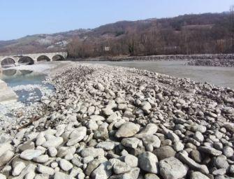 A Pavullo concluse le operazioni di deviazione del fiume Panaro nella zona del ponte Samone