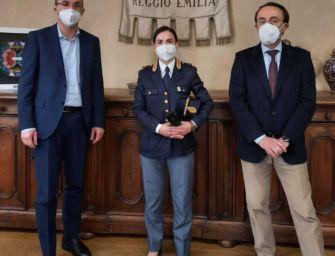Sindaco di Reggio incontra in Comune il questore e il capo delle volanti della polizia