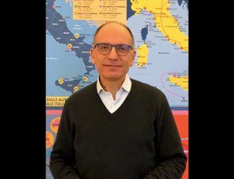 """Enrico Letta: """"Mi candido alla guida del Pd"""""""