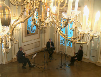 Venerdì 19 marzo l'Ensemble Zefiro suona Beethoven dalla Sala degli specchi del teatro Valli di Reggio