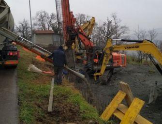 Stanziati 350mila euro per il consolidamento del versante della frana di Gazzolo a Ventasso