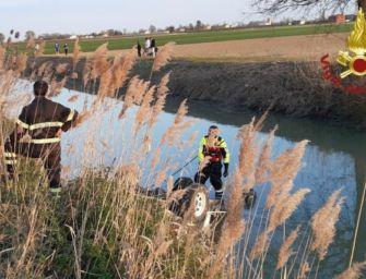 San Felice sul Panaro. Finisce nel canale con la jeep, morto coadiutore di 72 anni