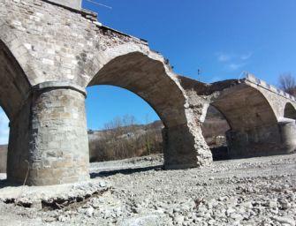 A Pavullo avviato l'intervento di ripristino del ponte Samone sul fiume Panaro