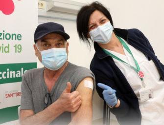 Dal 12 aprile in ER vaccini per fascia 70-74 anni