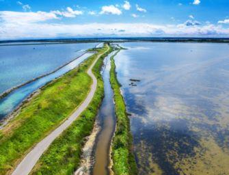 Delta del Po, attrattiva turistica d'Italia